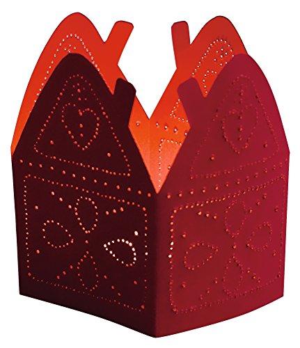 HABA 76.839 Weihnachtsstech Laternen, 6 Stück, Kreativität und Kunst Materialien, für Kinder