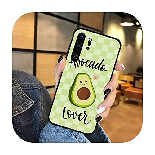 lindo de dibujos animados aguacate hermosa fruta teléfono caso para Huawei honor mate P 9 10 20 30 40 pro 10i 7 8 a x Lite nova 5t-a9-p inteligente 2019