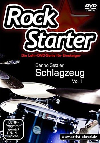 Rockstarter Vol. 1 - Schlagzeug: Die Lehr-DVD-Serie für Einsteiger! Schlagzeugschule. Unterricht für Anfänger. Training. Drums. School Of Rock.