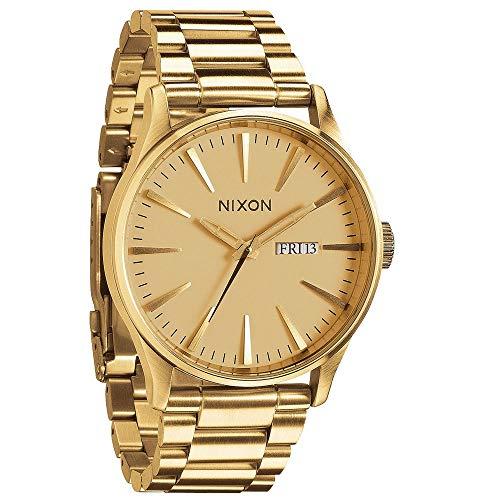 Nixon Sentry Ss Oro disponible en 7 colores Nixon reloj de hombre de acero inoxidable adhesivo Nixon regalo