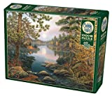 Cobble Hill 1000 Piece Puzzle - Deer Lake - Sample Poster Included