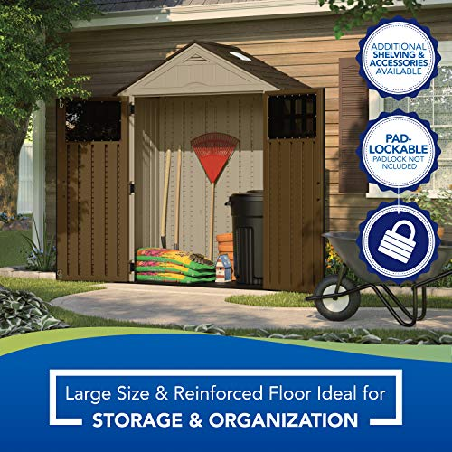 Suncast 6 x 3 Everett Outdoor Storage Shed