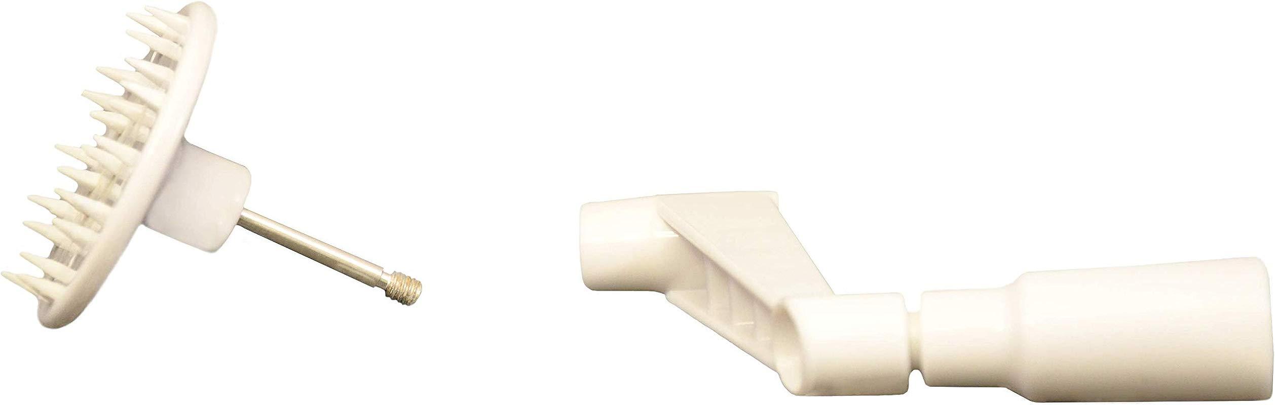 Brieftons Countertop Spiralizer Pack Of Turning Handle Vegetable Holder