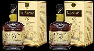 2 x El DORADO RUM 15 JAHRE SPECIAL RESERVE 0,7L