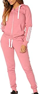 Oasisocean Womens Sexy 2 Piece Sports Outfit Set Shirt Crop Tops Bodycon Pants Joggers Clubwear Tracksuit Sportswear Set