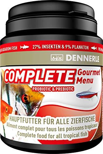 Dennerle Fischfutter Complete Gourmet Menu 200 ml - Hauptfutter für Zierfische in Granulatform