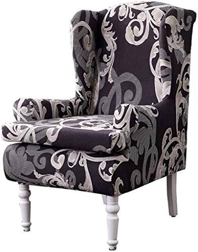 Jonist Funda elástica para sillón de Orejas, Fundas de sofá para sillón de Orejas Funda elástica para sofá Funda de poliéster Spandex Protector para Muebles