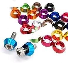 10pcs/lot aluminium ring m2 m2.5 M3 M4 M5 Corlorful Aluminium Cap Head Pakking wasmachine voor RC onderdelen-M5, Paars