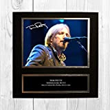 Tom Petty 2 NDB Signed Reproduction Autographed Wall Art - 10 inch x 10 inch Print (Card Mounted)