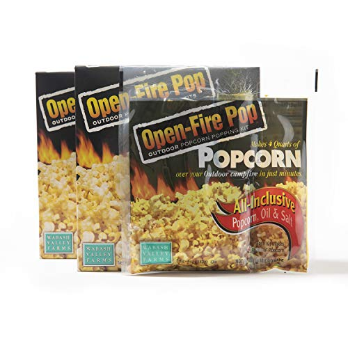 Best Deals! Wabash Valley Farms All Inclusive Popping Kits - Open Fire Pop - 5 Kit - 2 Pack