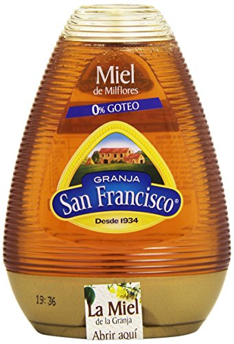 Granja San Francisco Miel de Milflores 0% Goteo, 425g