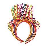 12Pcs Einhorn Stirnbänder,Haarreif Einhorn Haarschmuck mit Ohren,Stirnband Kinder und...