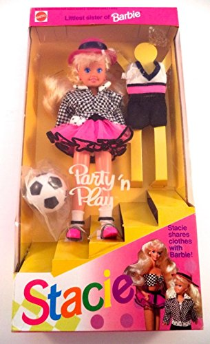 Barbie - Party 'n Play STACIE Doll Littlest Sister of Barbie (1992)