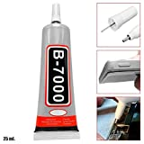 OcioDual Pegamento Universal Adhesivo B-7000 25ml para Pegar Pantalla LCD Tactil Moviles Tablets Industrial Joyas Ceramica DIY