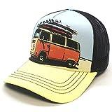 Top Hats Gorra de Surfero Surf Van Furgoneta Volkswagen Trucker Unisex Ajustable