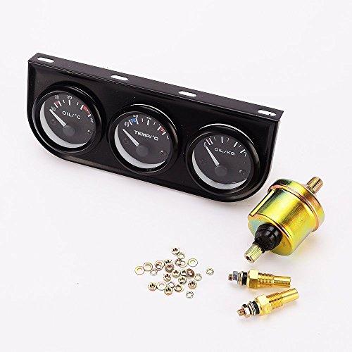 3in1 Öltemperaturmessgerät für Öltemperatur, Öldruckmessgerät, Sensor für Auto / LKW.