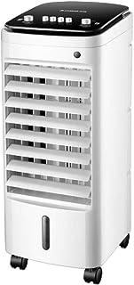 LIJING Compacto Portable Aire Acondicionado Portátil, Casa Móvil Enfriador De Aire Humidificación, Habitación Dormitorio Acondicionador De Aire-Blanco