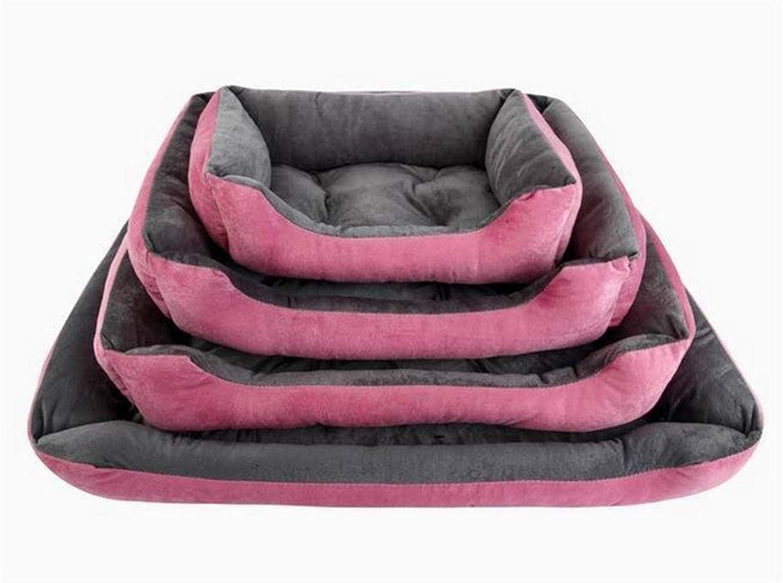 Pet nest dog bed sofa waterproof fleece cat bed dog mattress lazy couch pad pet bed kennel pet supplies,40  30  15CM