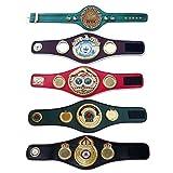 House of Highland 77 WBA WBO WBC IBF IBO Campeonato Cinturón de Boxeo réplica Mini 5 Cinturones Set