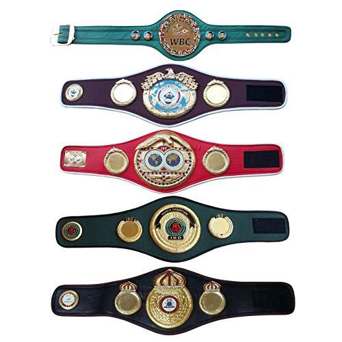 House of Highland 77 WBA WBO WBC IBF IBO Championship Mini 5 Gürtel Set