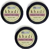 Glamorous Hub Khadi Rishikesh Herbal Fairness Fruit Cream Combo Set, paquete de...