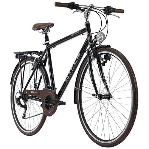 KS Cycling Trekkingrad Herren 28'' Venice Flachlenker schwarz RH 58 cm