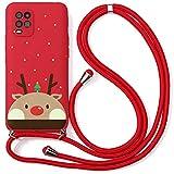 Yoedge Collier Coque pour Xiaomi Mi 9 avec 3D Noël Motif Dessin 6,39', Housse de Protection Ultra...