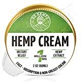 ✅ INSTANT HEMP CREAM - We combine our proprietary hemp blend with a range of natural pain relieving that may help your body heal naturally. It also provides unparalleled moisturization!… ✅ PREMIUM HEMP CREAM - Packed with CO2 extracted hemp , each ja...