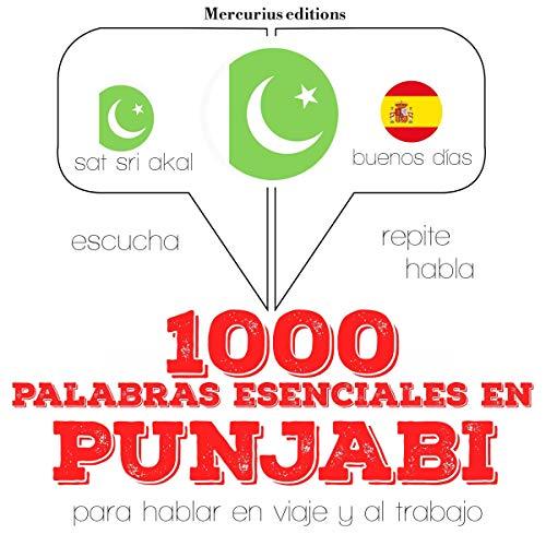 1000 palabras esenciales en punjabi audiobook cover art