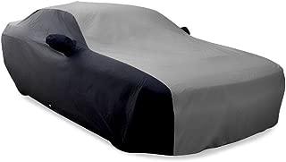 SR1 Performance 2008-2019 Dodge Challenger Ultraguard Plus Car Cover - Indoor/Outdoor Protection - Gray/Black