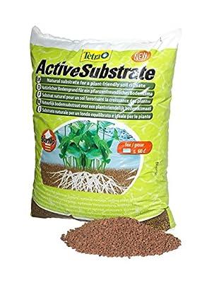 Tetra ActiveSubstrate (natürlicher Bodengrund aus wasserneutralen Tonmineralien, Alternative zu Aquarienkies), 6 Liter Eimer