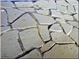 Unbekannt Bruchstein-Bodenplatten, 300 Gr., Krippenbau