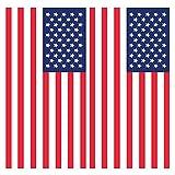 Towel USA Flag American 2 Pack Decorative Beach Towel 30' x 60' Soft Cotton Velour Towel Ideal for The Beach Pool Sunbathing