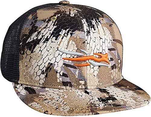 SITKA Gear Men's Trucker Breathable Mesh Hunting Cap, Waterfowl Marsh, OSFA