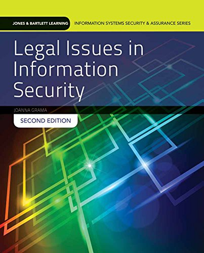 Compare Textbook Prices for Legal Issues in Information Security: Print Bundle Jones & Bartlett Learning Information Systems Security & Assurance Series 2 Edition ISBN 9781284054743 by Grama, Joanna Lyn