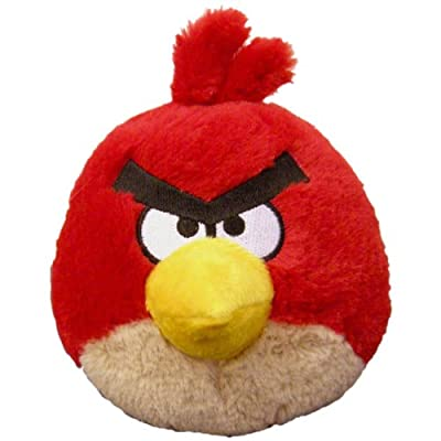 "Angry Birds 5"" Basic Plush Red Bird [Toy]"