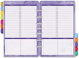 Day-Timer Flavia Desk Size 1-Page-Per-Day Refill, 5.5 x 8.5 Inches, January - December 2012 (D09451-1201)