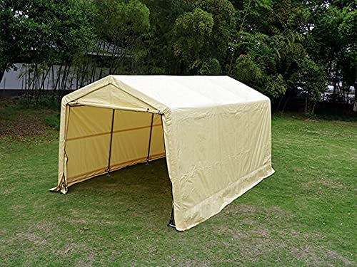 HUIJK Storage Sheds 10'X15'X8'FT Auto Shed Tent Bargain sale Shelter San Diego Mall
