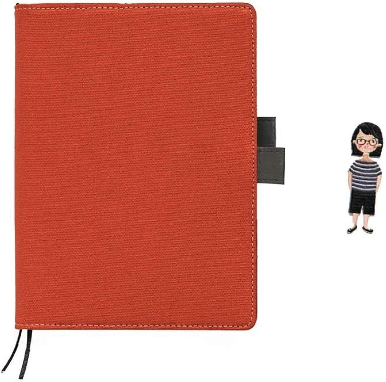 Xhuan 1 Stück Candy Farbe Nachfüllbarer Planer Schreiben Tagebuch Notizbuch Hard Cover Geschenk für Jungen Mädchen rot(rot ) B07P2L441K | Sale