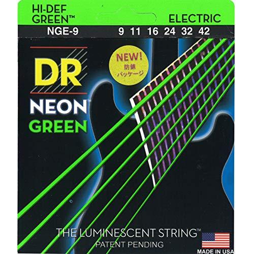 DR E NEON NGE- 9 HiDef Lite Saite grün
