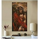 Jesus Christus Ölgemälde auf Leinwand Kunstdruck