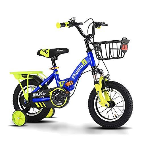 Axdwfd Infantiles Bicicletas Las Bicicletas De Estilo Libre Infantiles For Niños Y Niñas, De 4 Colores, 12
