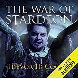 The War of Stardeon audiobook cover art