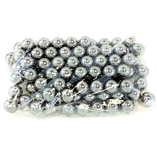 Avler 1/2 Inch (.50 Caliber) Steel Bearing Balls for Slingshot Ammo (Pack of 100)