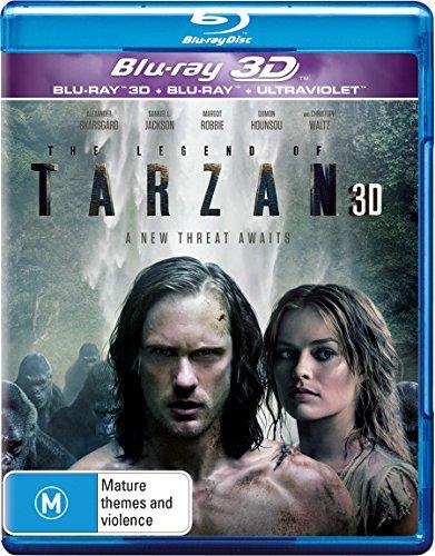 Legend Of Tarzan, The | 3D + 2D Blu-ray + UV