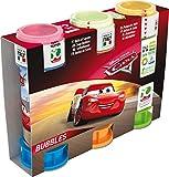 Dulcop- Pixar Party Pack 3 Tubi di Bolle di Sapone Modello Cars 60 ml, 103.558500