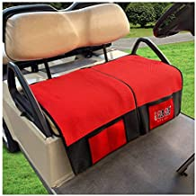 10L0L Warmest Golf Cart Seat Blanket Covers for Club Car DS Precedent & EZGO TXT RXV, Breathable Comfortable Golf Cart Seat Covers with Plush Backing Keep Knees Warm for Cold Winter Weather