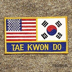 AWMA USA Korea Tae Kwon Do Patch
