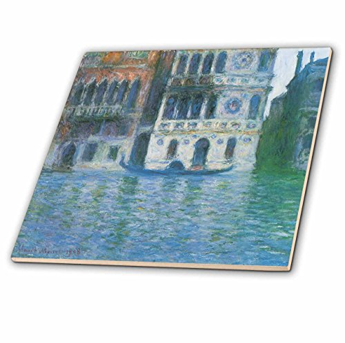 3dRose CT 126637_ 1The Palazzo Dario von Claude Monet 1908Keramik Fliesen, 4-Zoll