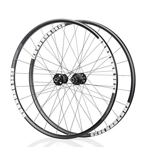 ZHTY Juego de Ruedas de Bicicleta Rueda de Bicicleta de Carretera 700C 28 In Llanta de aleación de Aluminio de Doble Pared Freno de Disco QR 8 9 10 11 Velocidad